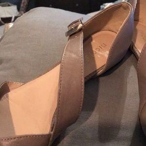 Nicole Shoes - Taupe Flats